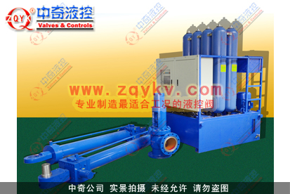 大型水电球阀 液控装置 1图片